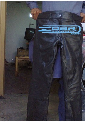 Leather and Pvc Pants