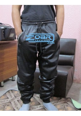 Leather Joggers, Leather Sweat pants