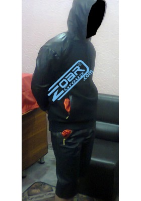 Leather & Fleece Tracksuit